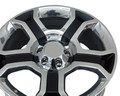 "22"" OEM Fits Ford F-150 Harley Davidson Factory 3750 Wheel Rim New - Polished Black 22x9"