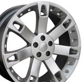 "22"" Fits Land or Range Rover - Overfinch Replica Wheel - Hyper Silver 22x9.5"