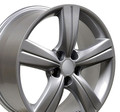 "18"" Fits Lexus GS Wheel Hyper Silver 18x8"" Rim Hollander 74184"