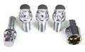 Chrome Locking Lug Studs Set
