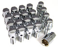Chrome Lug Studs and Locks  Set