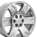 "20"" Fits GMC Yukon Chevrolet Cadillac Wheel Polished 20x8.5"