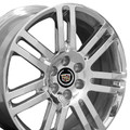 "18"" OEM Cadillac SRX Wheels 4637 - Polished 18x8"