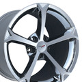 "19"" OEM Chevrolet Corvette Grand Sport Chrome 19x12"