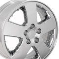 "17"" OEM Pontiac Montana 6579 Wheel - Chrome 17x6.5"