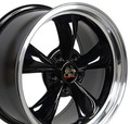 "17"" Fits Mustang® Bullitt Wheel Black 17x8"