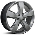 "20"" Fits Jeep Grand Cherokee Overland Summit Edit Wheel Hyper Silver 20x8"""