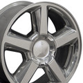 "22"" Fits Chevrolet Tahoe Escalade GMC Wheels Rims Polished Set of 4 22x9  Hollander # 5308"