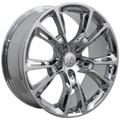 "20"" Fits Jeep Grand Cherokee Dodge Durango SRT8 SRT 8 2005-2013 Style Wheels Chrome Set of 4 20x8.5"" - Hollander 9113"