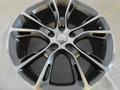 "Set 20"" Fits Jeep Grand Cherokee Dodge Durango SRT8 SRT 2005-2013 Style Replica Wheels - Gunmetal Machine Face 20x8.5"" - Hollander 9113"