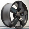"20"" Satin Black Ford F150 Lightning Expedition Alloy Wheels Rims & Tires Set of 4 20x9"