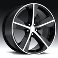 "20"" Fits Dodge Challenger Charger 300 SRT Wheels Machined Matte Black Set of 4 20x9"" -Hollander 2329 Rims"