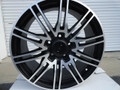 "Set of 4 Staggered 19"" Fits Porsche - 911 996 997 GT3 Replica Wheels Rims - Machine Black 19x8.5/11"