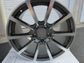 "Set of 4 Staggered 19"" Fits Porsche - 911 996 997 GT3 Replica Wheels Rims - Machine Gray 19x8.5/11"