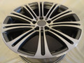 "Set of 4 19"" Fits BMW 3 Series 328 330i M6 Winter Wheels Rims- Staggered - Machine Gray 19x8.5/9.5"
