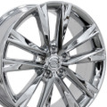 "Set of 4 19"" Fits Lexus - RX350 F Sport Replica Wheel -Chrome 19x7.5 - Hollander 74279"