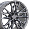 "Set of 4 19"" Fits Lexus - IS-F Replica Wheel -Gunmetal 19x9 - Hollander 74246"
