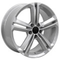 "Set of 4 18"" Fits Volkswagen - CC Wheel - Silver 18x8 Rims"