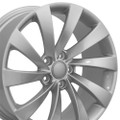 Set of 4 18'' Fits Volkswagen - CC Wheel - Silver 18x8 Rims