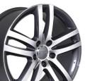 "20"" Fits Audi Q7 Wheel Gunmetal Set of 4 20x9"" Rims"