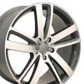 "20'' Fits Audi Q7 Wheel Gunmetal Set of 4 20x9"" Rims"