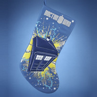 Doctor Who Tardis Christmas Holiday Stocking