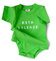 Beta Release Snapsuit by Wry Baby