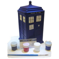 Doctor Who Paint Your Own TARDIS Bank