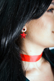 Sailor Mars Hanging Earrings