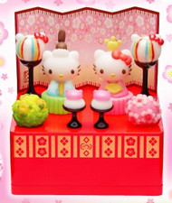 Re-Ment / Sanrio Hello Kitty Hinamatsuri Girls Day Doll Set