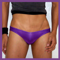 Groovin - Purple V-Cut Bikini Brief Underwear