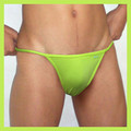Groovin - Green String Bikini Brief Underwear