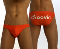 Groovin' Bikini Swim Trunk City Classic Red (WK0109)