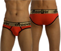 Bold Line Hip Brief Red