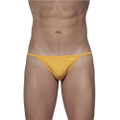String Bikini Golden Yellow