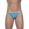 String Bikini Cyan Blue