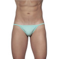 String Bikini Mint Green
