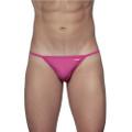 String Bikini Fuchsia Pink