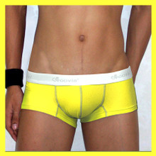 Groovin - Yellow Cup Boxer Brief Underwear