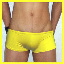 Groovin - Yellow Super Extra Low-Rise Boxer