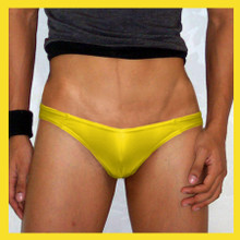 Groovin - Yellow V-Cut Bikini Brief Underwear