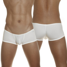 Groovin - Super Extra Low Waist Cup Boxer Brief White