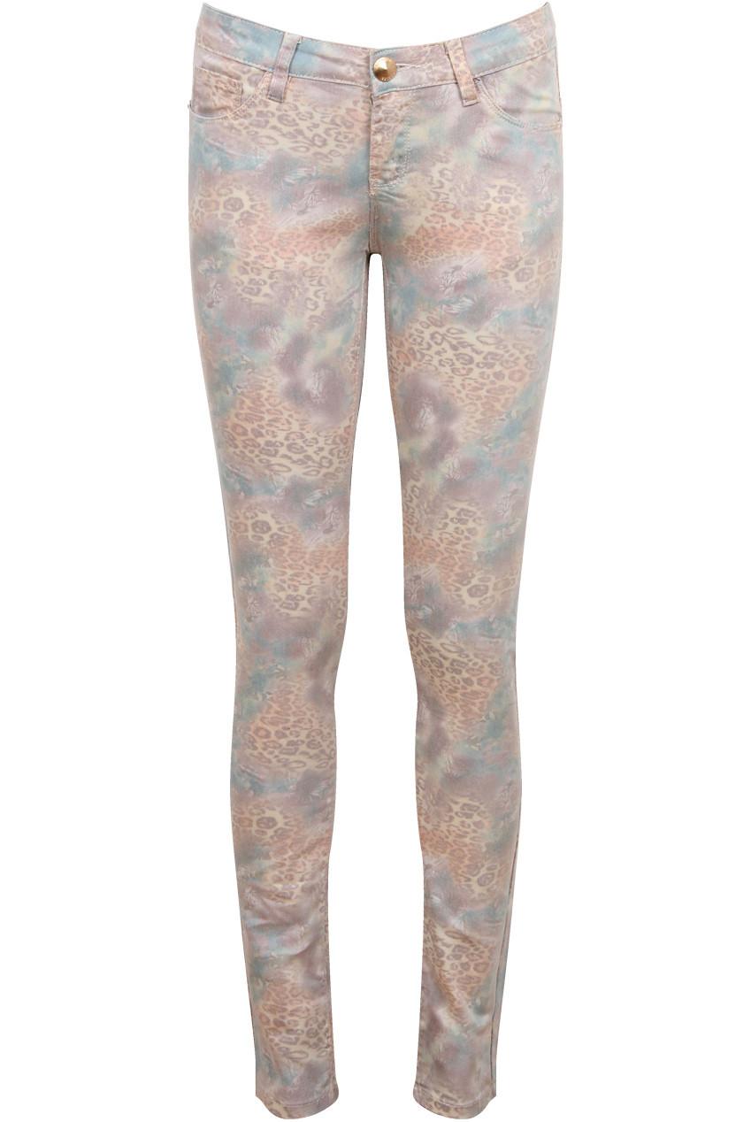 Leopard Print Skinny Jeans SiAdqYY1