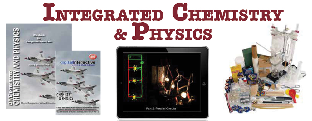 DIVE Science - Integrated Chemistry and Physics - Digital ...