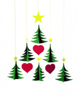 Christmas Tree 6 Mobile by Flensted