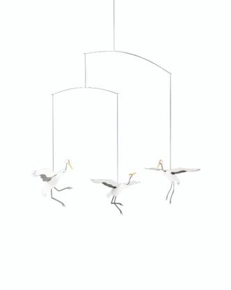 Crane Dance Mobile by Flensted