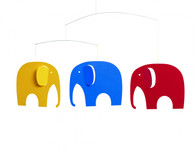Elephant Party Mobile by Flensted