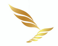 Gold Rhythm Mobile by Flensted