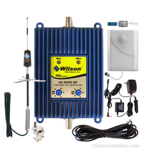 Wilson 801245-T RV kit AG SOHO 60 dB Amplifier Dual Band 850/1900 Mhz Kit for Trucks, main image