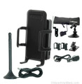 Wilson 815326-H Sleek 4G-A Cradle Mobile Tri-Band Signal Booster Bundle for AT&amp;T LTE w/Home Accessory Kit, main image